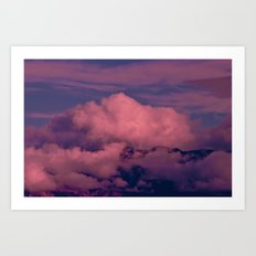 Winter Storm Clouds Art Print