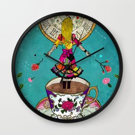 Alice's Dream Wall Clock