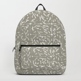Crosshatch - Taupe Backpack