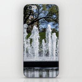 Union Station Fountain iPhone Skin
