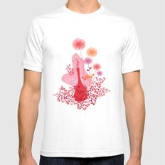 blossom Mens Fitted Tee White MEDIUM