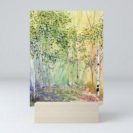 4 season watercolor collection - spring Mini Art Print