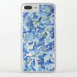Water Play Clear iPhone Case