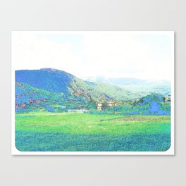 """The Hills"" Canvas Print"