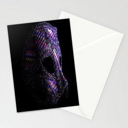 Harlequin mask Stationery Cards