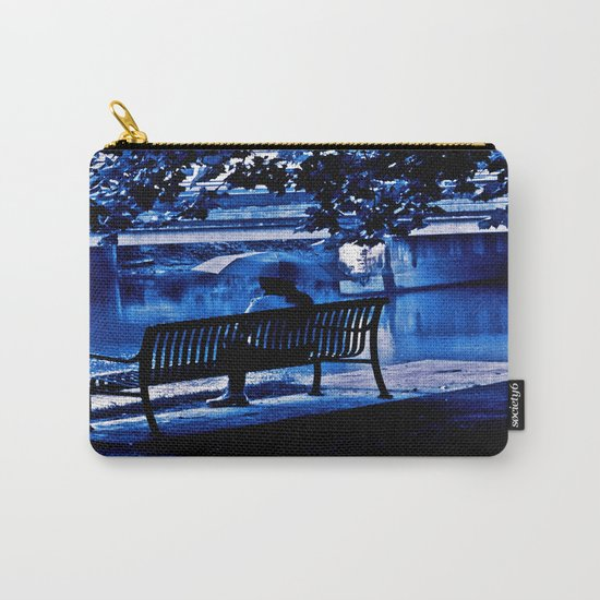 A Blue Morning Carry-All Pouch
