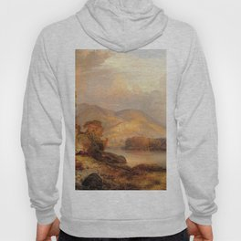 Autumn Landscape 1867 By Thomas Moran | Scenic Landscape Reproduction Hoody