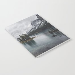 Maligne Lake Jasper Alberta Notebook