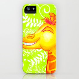 Jammin Giraffe iPhone Case