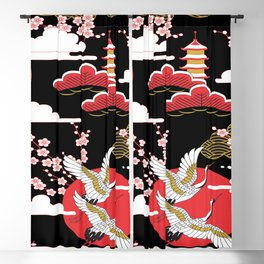Asian Design 2 Blackout Curtain