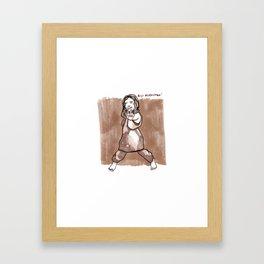 Biji Kurdistan Framed Art Print