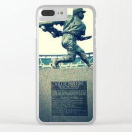 Swing for the Fences! Clear iPhone Case