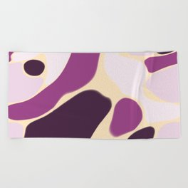 Funky Abstract 1 Beach Towel
