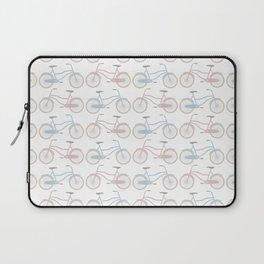 Vintage Bicycle Pattern Laptop Sleeve