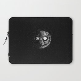Moon Blinked Laptop Sleeve