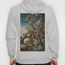 1940 Classical Masterpiece 'After Many Days' by Thomas Hart Benton Hoody