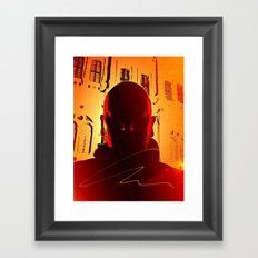 Kuhl's Head Rush Framed Art Print