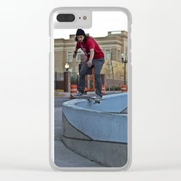 Boardslide Clear iPhone Case