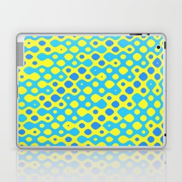 Brain Coral Blue Banded Small Polyps - Coral Reef Series 027 Laptop & iPad Skin