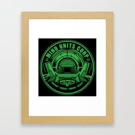 Mind Units Corp - Weapons of Mass Destruction Enlightened Version Framed Art Print