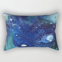 Bright Ocean Life, Tiny World Collection Rectangular Pillow
