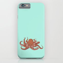 Octopus Hugs iPhone Case