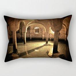 Underwater Crypt Rectangular Pillow
