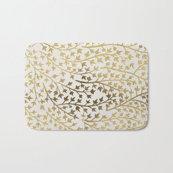 Gold Ivy Bath Mat