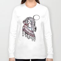 selena gomez Long Sleeve T-shirts featuring Selena by meowkitty17