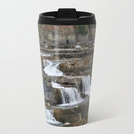 Kootenai Falls Metal Travel Mug