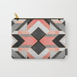 Peach Deco 1 Carry-All Pouch