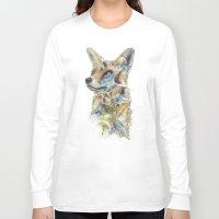 starfox Long Sleeve T-shirts featuring Heroes of Lylat Starfox Inspired Classy Geek Painting by Barrett Biggers