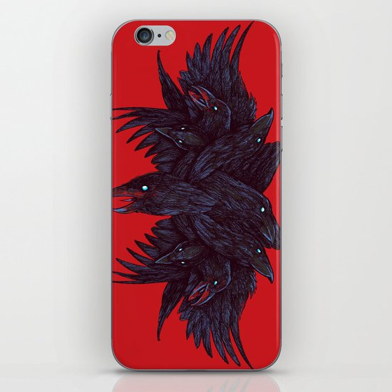 Crowberus iPhone Skin