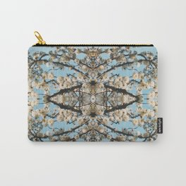 Cherry Blossoms Photographic Pattern Carry-All Pouch