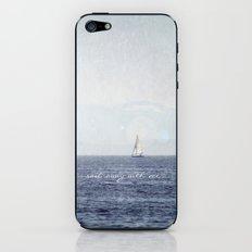 Sail Away With Me iPhone & iPod Skin