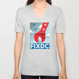 FIX DC Unisex V-Neck