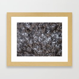 Artificial Nacre Framed Art Print