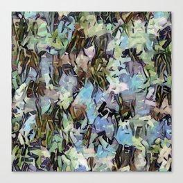 Abstract Confetti Landscape Canvas Print