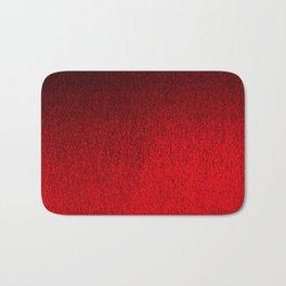 Ruby Red Ombré Design Bath Mat