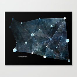 Connecting The Void Canvas Print