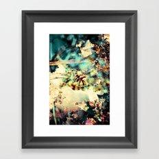 flowers & Ice. Framed Art Print