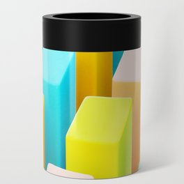 Color Blocking Pastels Can Cooler