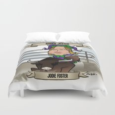 Rodeo Jester (Jodie Foster) Duvet Cover