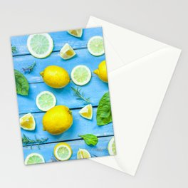 Fruits and leaves pattern (24) Stationery Cards