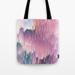 Rainbow Glitches Tote Bag