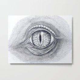 Eye Of The Dragon Metal Print