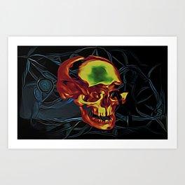 Maqjel Art Print