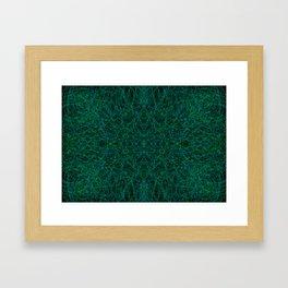Inter-Connected Framed Art Print