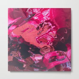 fifty shades of pink Metal Print