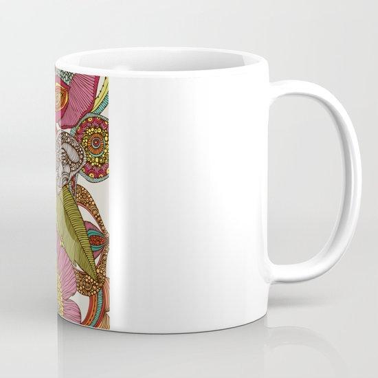 Arabella and the flowers Coffee Mug